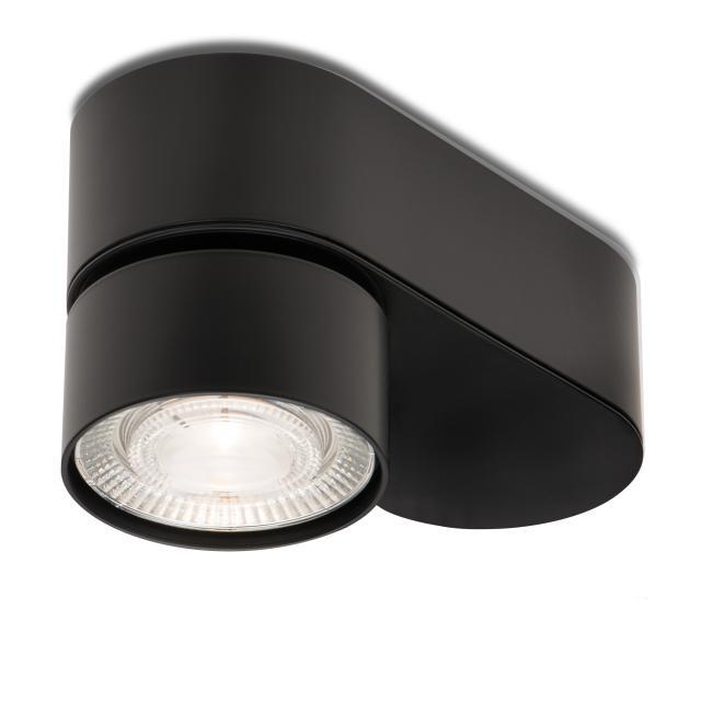 mawa LED surface-mounted spotlight, oval, 1 head