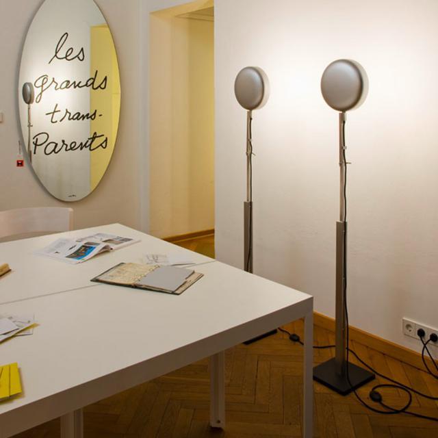 mawa schliephacke/berliner bratpfanne floor lamp