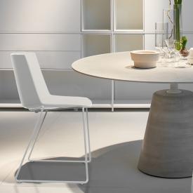 MDF Italia AÏKU chair with runners