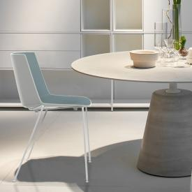 MDF Italia AÏKU chair with round legs