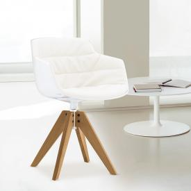 MDF Italia FLOW SLIM ARMCHAIR armchair with legs
