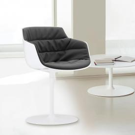 MDF Italia FLOW SLIM ARMCHAIR armchair with single leg