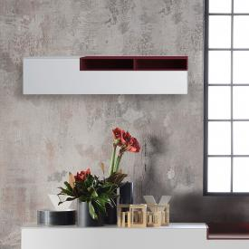 MDF Italia INMOTION wall unit with open compartments, right
