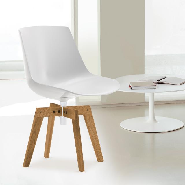 MDF Italia FLOW swivel chair with legs