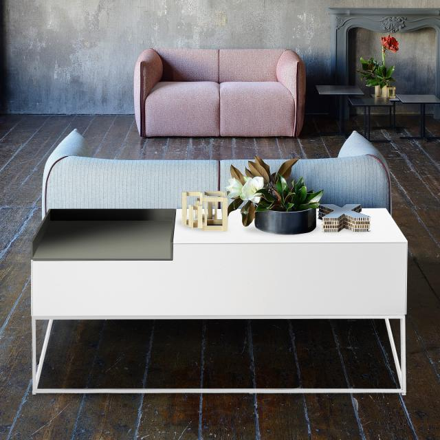 MDF Italia INMOTION sideboard with cable hole, open compartment left