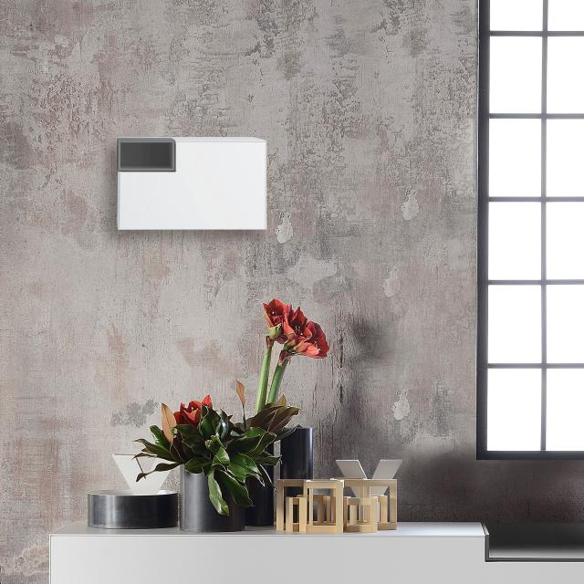 MDF Italia INMOTION wall unit with open compartment, left