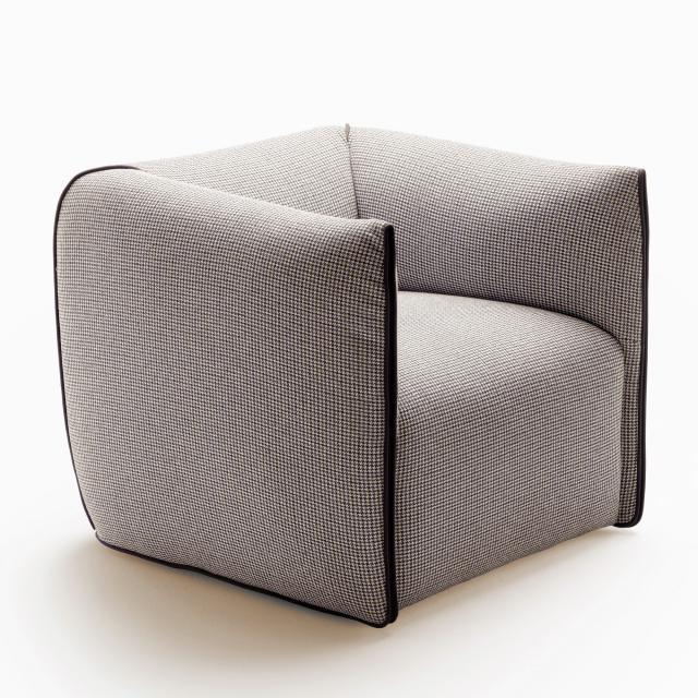 MDF Italia MIA swivel armchair