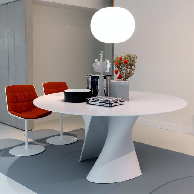 MDF Italia S TABLE table, round