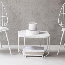 Menu Cage table, marble