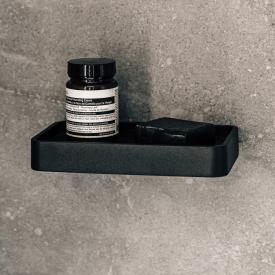 Menu shelf for the shower with marble top black