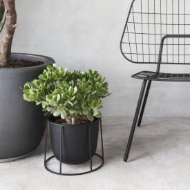 Menu Wire pot with stand