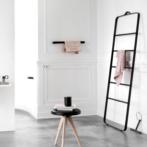 Menu Comfort towel ladder black/oak