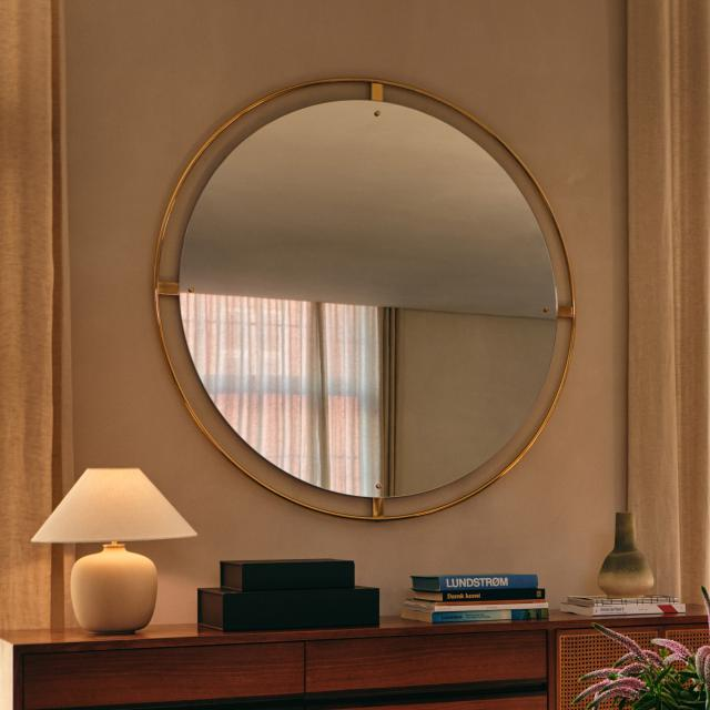 Menu Nimbus wall-mounted mirror, round