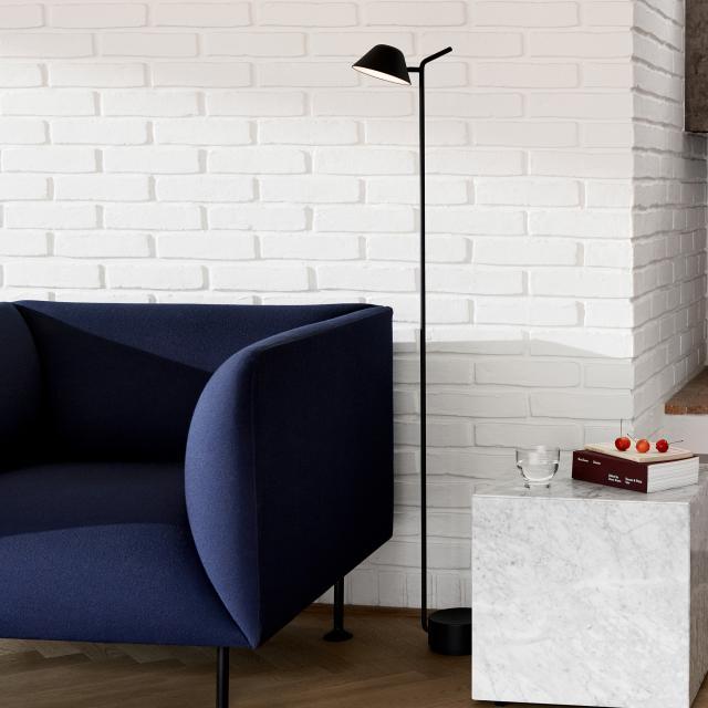 Menu Peek LED floor lamp with dimmer