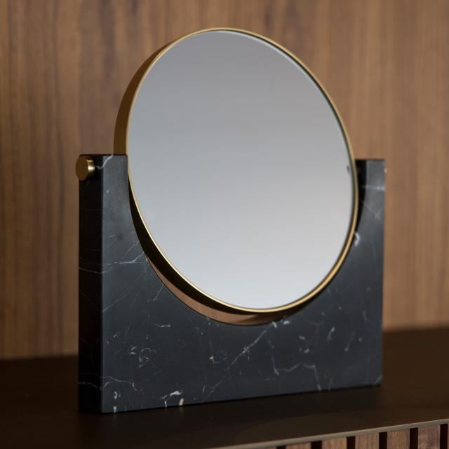 Menu Pepe freestanding beauty mirror black
