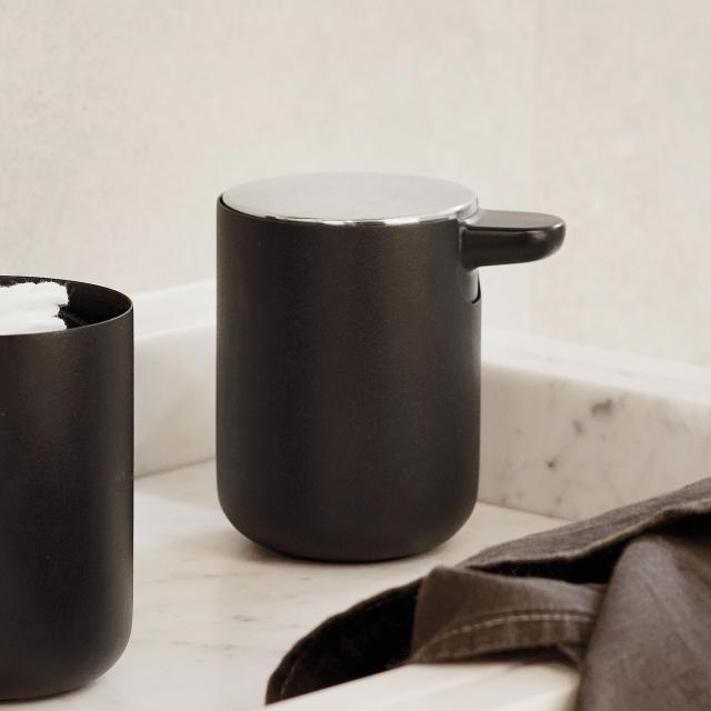 Menu soap dispenser black