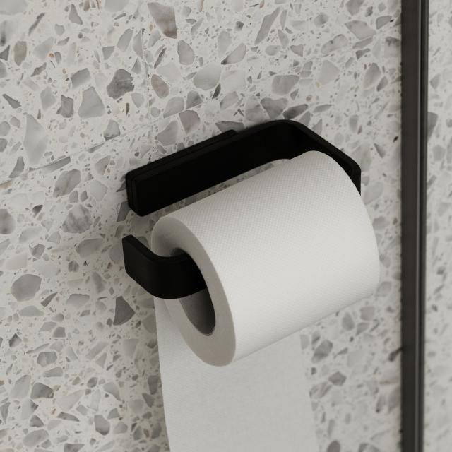 Menu toilet roll holder matt black