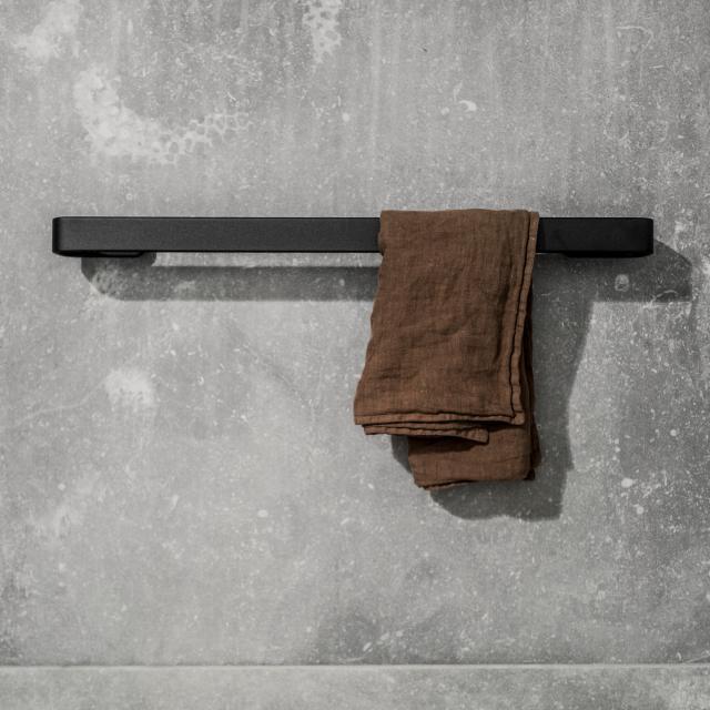Menu towel rail matt black