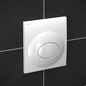 MEPA Drop Sanicontrol concealed urinal flushometer white