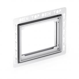 MEPA installation frame MEPA flush plates for tile flush assembly type I white