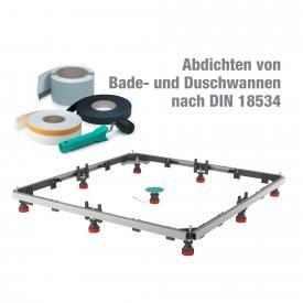 MEPA shower tray set MR extra flat acrylic