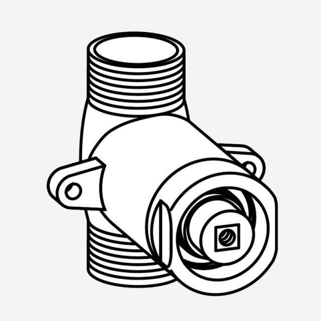 MEPA cartridge for urinal flushometer