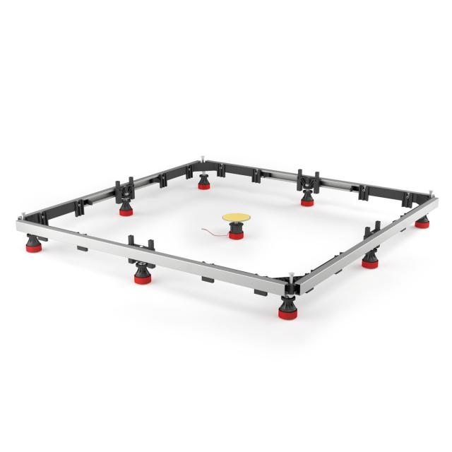 MEPA mounting frame SF rectangular/square shower tray max 100 x 100 acrylic