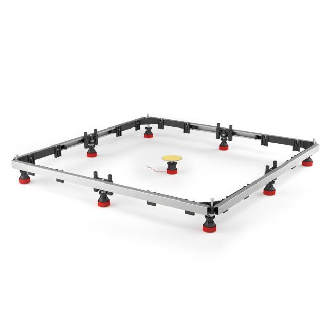 MEPA mounting frame SF rectangular up to 100 x 100 acrylic