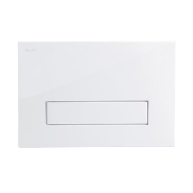 MEPA Orbit flush plate, with start/stop flush technology white