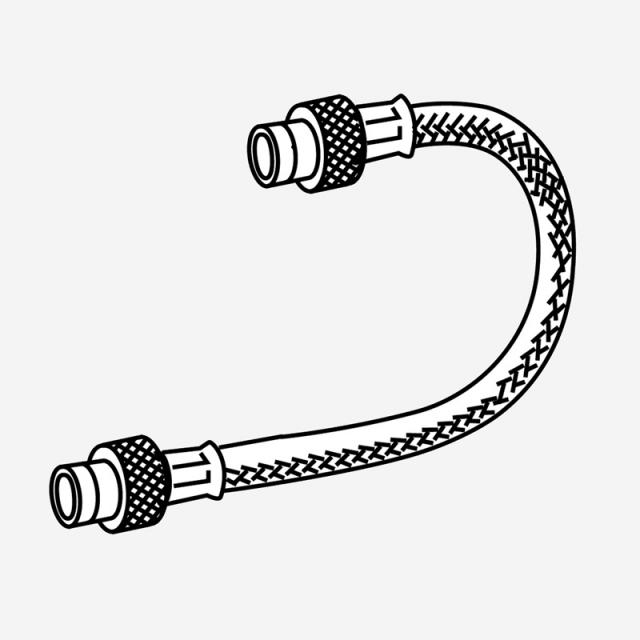 MEPA reinforced hose for toilet element cistern Sanicontrol type A31 - Air toilet