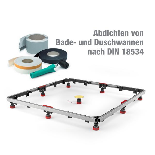MEPA shower tray set MR extra flat Universal