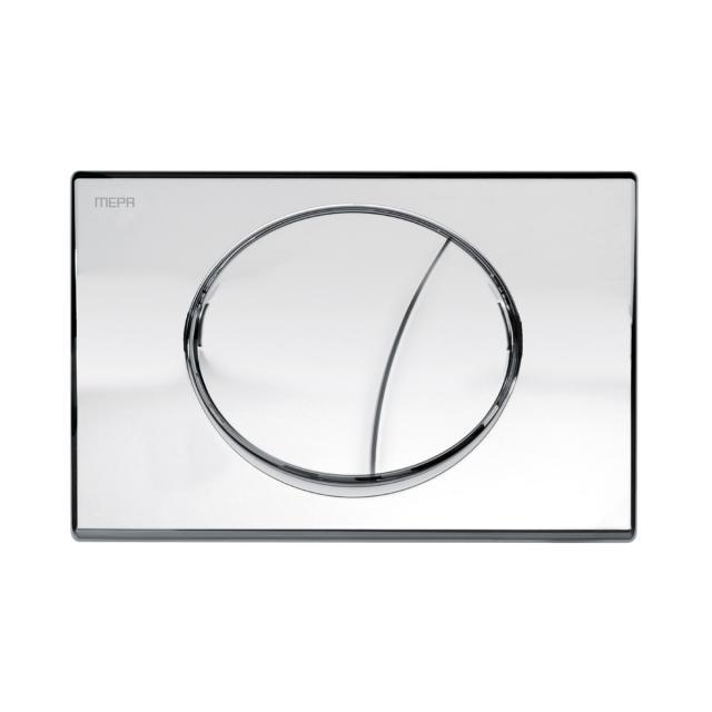 MEPA Sun flush plate, with dual flush technology chrome