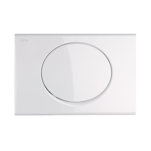 MEPA Sun flush plate, with start/stop flush technology white