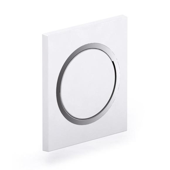MEPA Zero concealed urinal flushometer white
