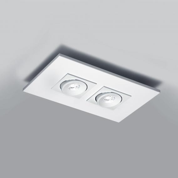 Milan Marc LED ceiling spotlight 2 heads