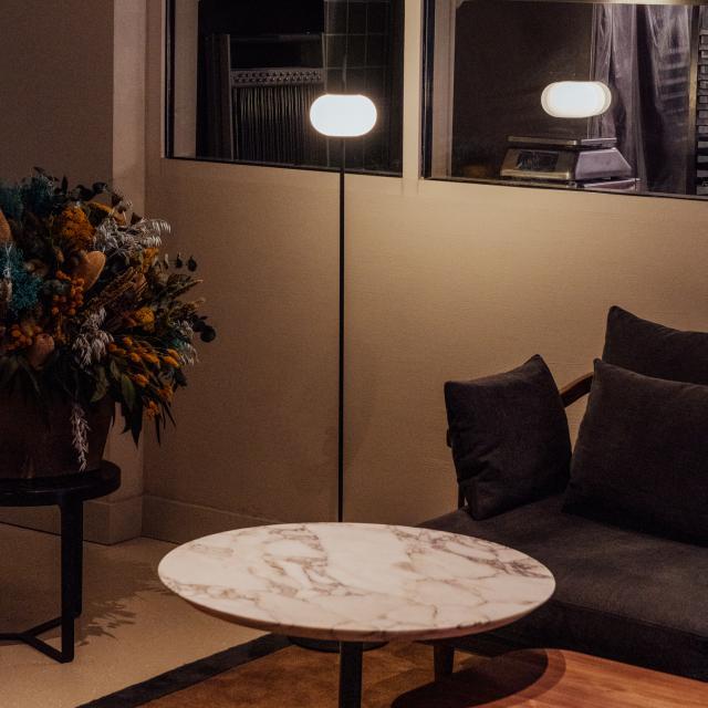 Milan Astros floor lamp