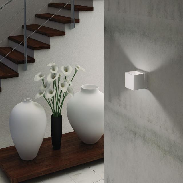Milan Dau LED wall light