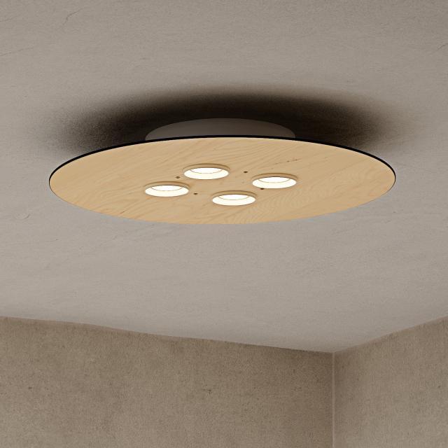 Milan Equal ceiling light, round