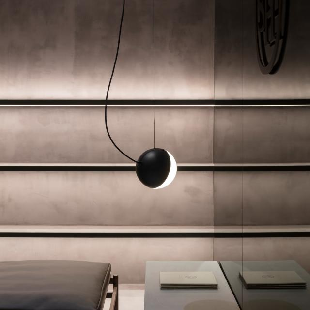 Milan Half pendant light without canopy