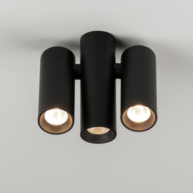 Milan Haul LED ceiling spotlight 3 heads