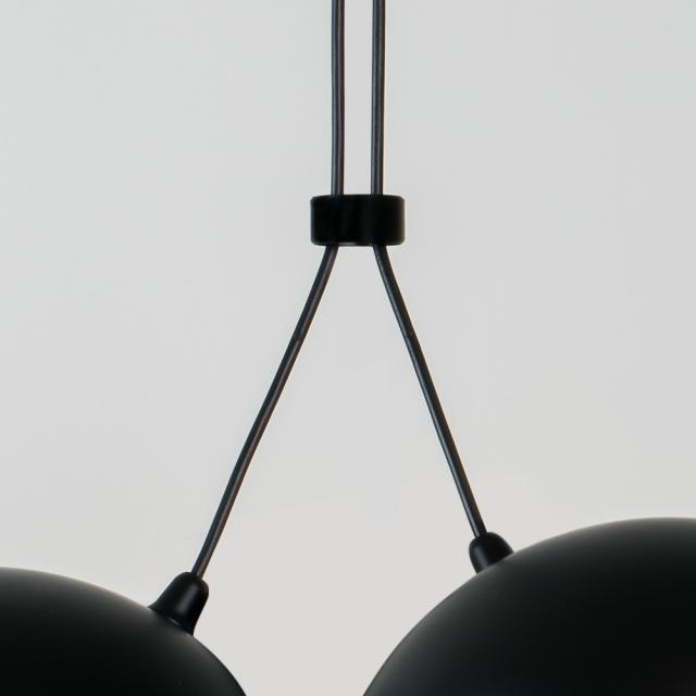 Milan joining ring for double Nod pendant light