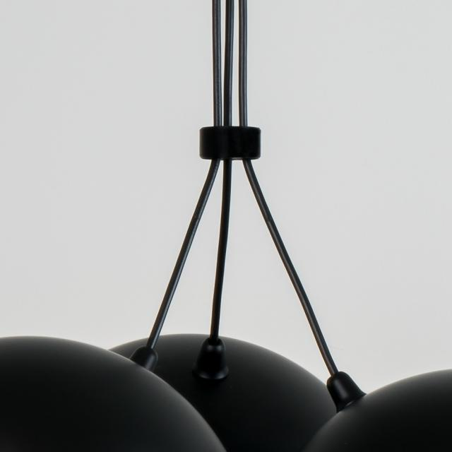 Milan joining ring for triple Nod pendant light