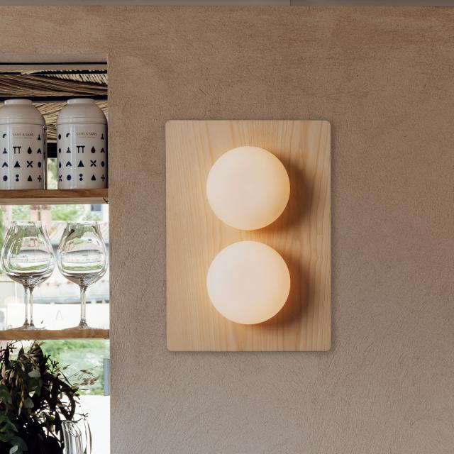 Milan Knock ceiling light