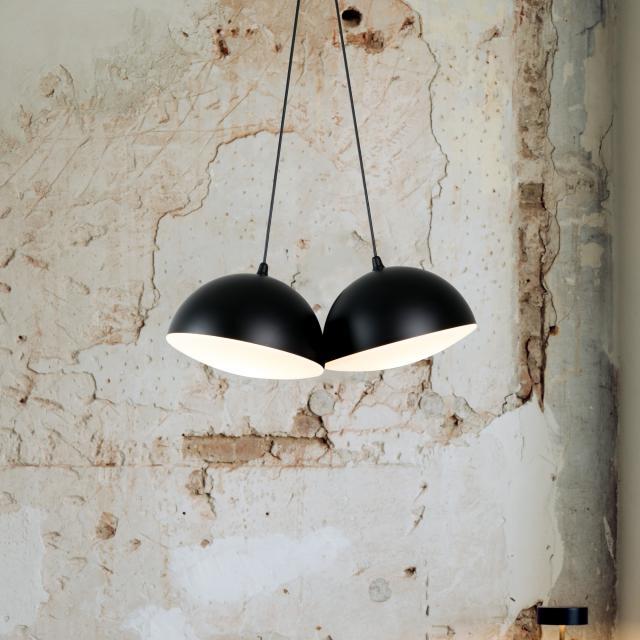 Milan Nod pendant light, 2 heads