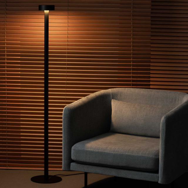 Milan Peak Lane LED floor lamp