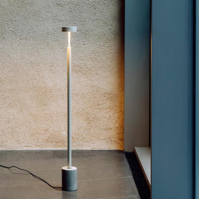 Milan Peak LED floor lamp
