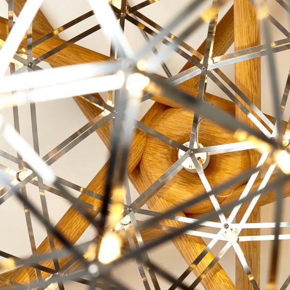 Moooi Raimond Tensegrity LED floor light with dimmer