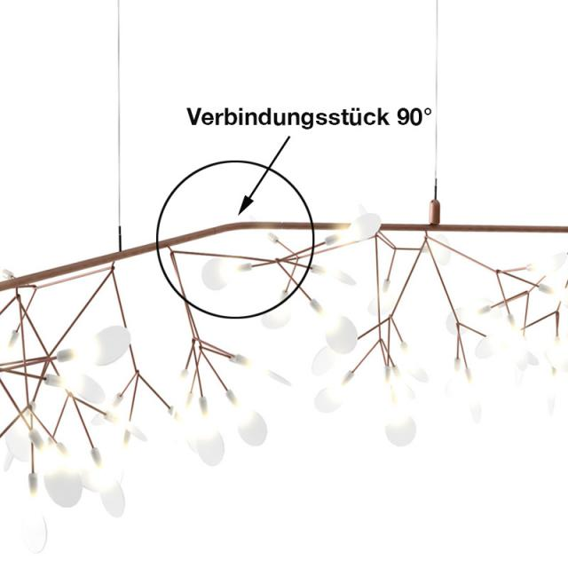 moooi connection piece 90° for Heracleum Endless LED pendant light