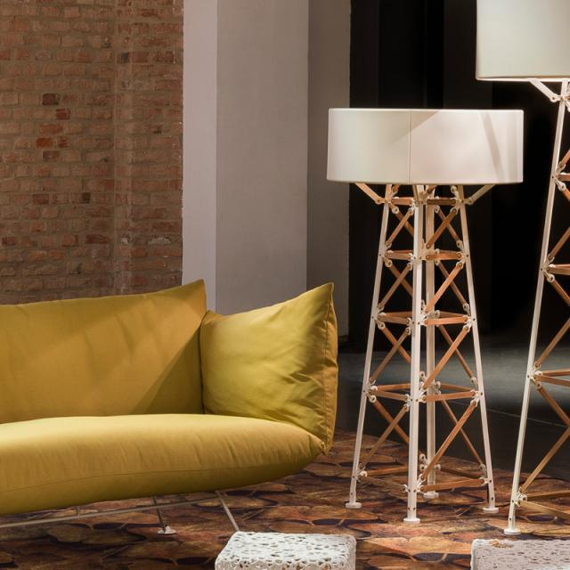 moooi Construction Lamp M floor lamp with dimmer