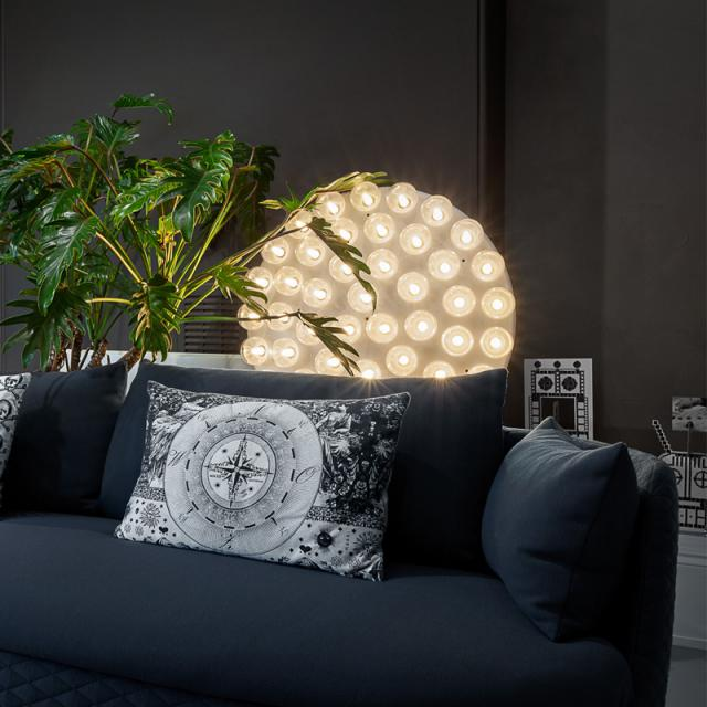 moooi Prop Light Round LED floor lamp with dimmer